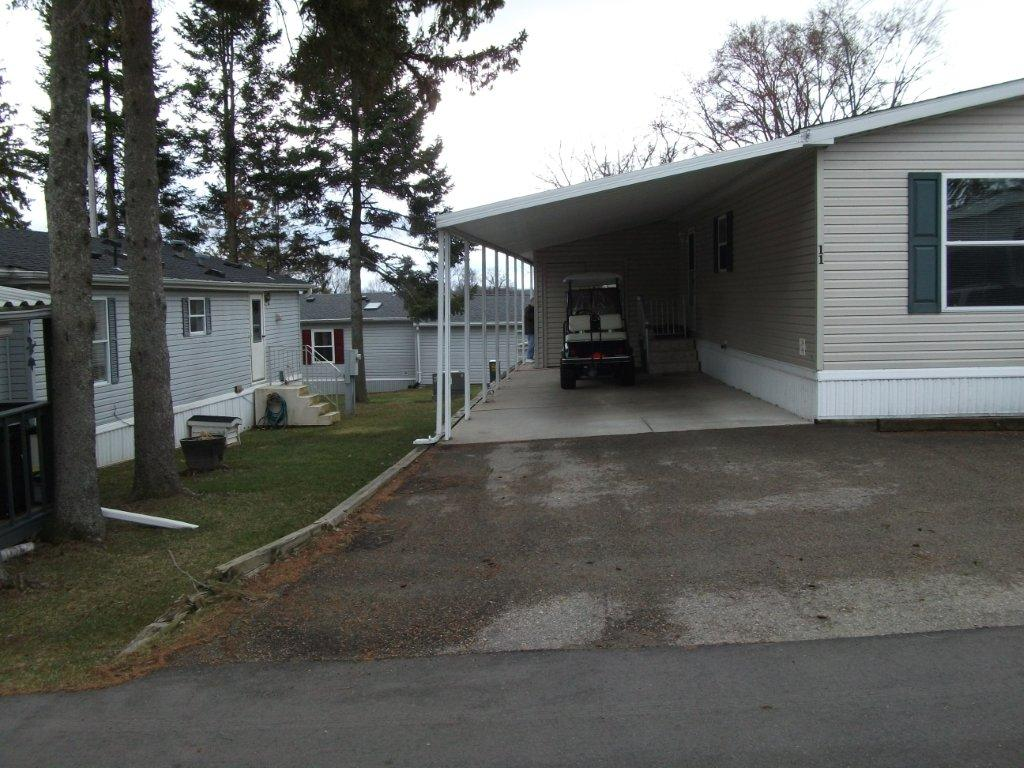 Carports attached to mobile home photos for Carports attached to house pictures